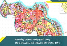 Hệ thống chỉ tiêu sử dụng đất trong quy hoạch, kế hoạch sử dụng đất theo Thông tư Số 29/2014/TT-BTNMT