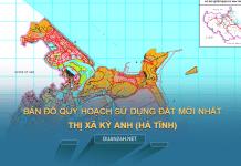 Tải về bản đồ quy hoạch sử dụng đất Thị xã Kỳ Anh (Hà Tĩnh)