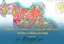 Tải về bản đồ quy hoạch sử dụng đất huyện Lý Nhân (Hà Nam)