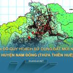 Tải về bản đồ quy hoạch sử dụng đất huyện Nam Đông (Thừa Thiên Huế)