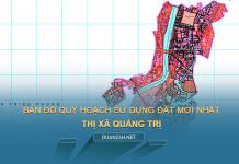 Tải về bản đồ quy hoạch sử dụng đất Thị xã Quảng Trị