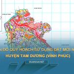 Tải về bản đồ quy hoạch sử dụng đất huyện Tam Dương (Vĩnh Phúc)