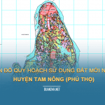 Tải về bản đồ quy hoahcj sử dụng đất huyện Tam Nông (Phú Thọ)