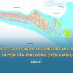 Tải về bản đồ quy hoạch sử dụng đất huyện Tân Phú Đông (Tiền Giang)