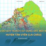 Tải về bản đồ quy hoạch sử dụng đất huyện Tân Uyên (Lai Châu)