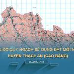 Tải về bản đồ quy hoạch huyện Thạch An (Cao Bằng)