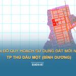 Tải về bản đồ quy hoạch sử dụng đất năm TP Thủ Dầu Một (Bình Dương)
