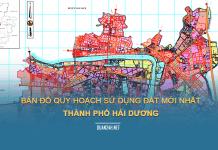 Tải về bản đồ quy hoạch sử dụng đất Thành phố Hải Dương