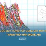 Tải về bản đồ quy hoạch sử dụng đất Thành phố Vinh (Nghệ An)