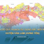 Tải về bản đồ quy hoạch sử dụng đất huyện Văn Lâm (Hưng Yên)
