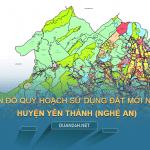 Tải về bản đồ quy hoạch sử dụng đất huyện Yên Thành (Nghệ An)