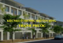 Khu nhà ở thương mại ven song Thạnh Phước (thị xã Tân Uyên, tỉnh Bình Dương)