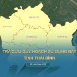 Tra cưu quy hoạch sử dụng đất tỉnh Thái Bình