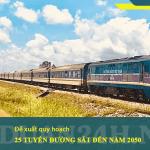 Quy hoạch mạng lưới đường sắt quốc gia đến năm 2050 sẽ có 25 tuyến