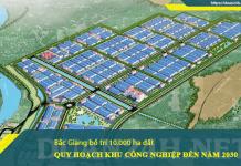 Quy hoạch KCN, CCN tỉnh Bắc Giang đến 2030