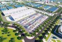 Phối cảnh Khu công nghiệp Nam Tân Tập