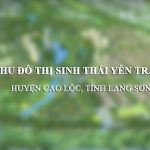 Khu đô thị Yên Trạch (huyện Cao Lộc, tỉnh Lạng Sơn)