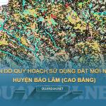 Tải về bản đồ quy hoahcj sử dụng đất huyện Bảo Lâm (Cao Bằng)