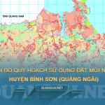 Tải về bản đồ quy hoạch sử dụng đất huyện Bình Sơn (Quảng Ngãi)