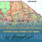 Tải về bản đồ quy hoạch sử dụng đất huyện Châu Thành (Tây Ninh)