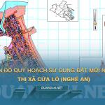 Tải về bản đồ quy hoạch sử dụng đất Thị xã Cửa Lò (Nghệ An)