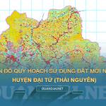 Tải về bản đồ quy hoạch sử dụng đất huyện Đại Từ (Thái Nguyên)