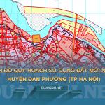 Tải về bản đồ quy hoạch sử dụng đất huyện Đan Phượng (Hà Nội)
