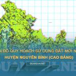 Tải về bản đồ quy hoạch sử dụng đất huyện Nguyên Bình (Cao Bằng)