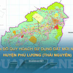 Tải về bản đồ quy hoạch sử dụng đất huyện Phú Lương (Thái Nguyên)