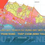 Tải về bản đồ quy hoạch sử dụng đất TP Phan Rang - Tháp Chàm (Ninh Thuận)