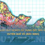 Tải về bản đồ quy hoạch sử dụng đất huyện Quế Võ (Bắc Ninh)