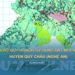 Tải về bản đồ quy hoạch sử dụng đất huyện Quỳ Châu (Nghệ An)