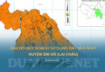 Tải về bản đồ quy hoạch sử dụng đất huyện Sìn Hồ (Lai Châu)