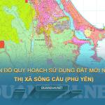 Tải về bản đồ quy hoạch sử dụng đất Thị xã Sông Cầu