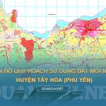 Tải về bản đồ quy hoạch sử dụng đất huyện Tây Hòa (Phú Yên)