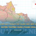 Tải về bản đồ quy hoạch sử dụng đất huyện Thường Xuân (Thành Hóa)