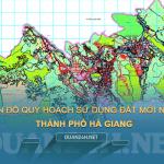 Tải về bản đô quy hoạch sử dụng đất Thành phố Hà Giang
