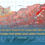 Tải về bản đồ quy hoạch sử dụng đất Thành phố Đồng Xoài