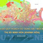 Tải về bản đồ quy hoạch sử dụng đất Thị xã Ninh Hòa (Khánh Hòa)