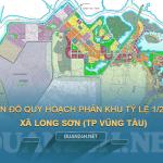 Bản đồ quy hoạch 1/2000 xã Long Sơn, Tp Vũng Tàu