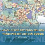 Bản đồ quy hoạch chung xây dựng Thành phố Chí Linh đến năm 2035