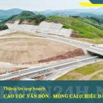 Thông tin dự án cao tốc Vân Đồn - Móng Cái