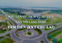 Thông tin quy hoạch Khu dân cư dịch vụ du lịch Tam Tiến (KKT Chu Lai)