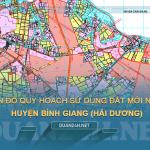 Tải về bản đồ quy hoạch sử dụng đất huyện Bình Giang (Hài Dương)