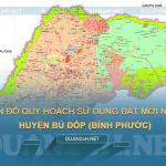 Tải về bản đồ quy hoạch sử dụng đất huyện Bù Đốp (Bình Phước)