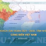 Tải về quy hoạch và bản đồ cảng biển Việt Nam
