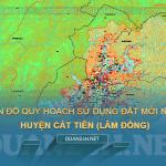 Tải về bản đồ quy hoạch sử dụng đất huyện Cát Tiên (Lâm Đồng)