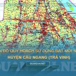 Tải về bản đồ quy hoạch sử dụng đất huyện Cầu Ngang (Trà Vinh)