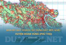 Tải về bản đồ quy hoạch sử dụng đất huyện Đoan Hùng (Phú Thọ)