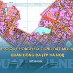 Tải về bản đồ quy hoạch sử dụng đất quận Đống Đa (TP Hà Nội)
